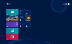 Windows 8 Customized Startup Screen / Desktop